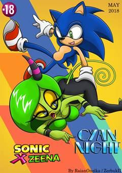 Sonic fudendo Zeena