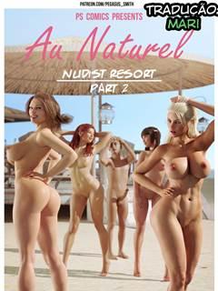 Mãe e Filho no resort de nudismo – Parte 2