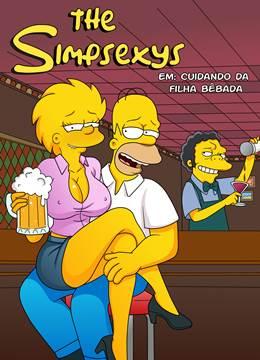 Os Simpsons: Cuidando da filha bêbada