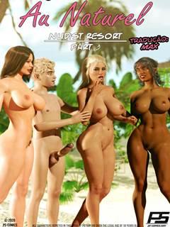Mãe e Filho no resort de nudismo – Parte 3