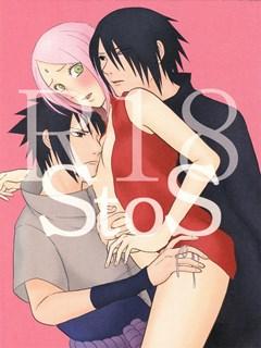 Sakura e Sasuke fazendo sexo